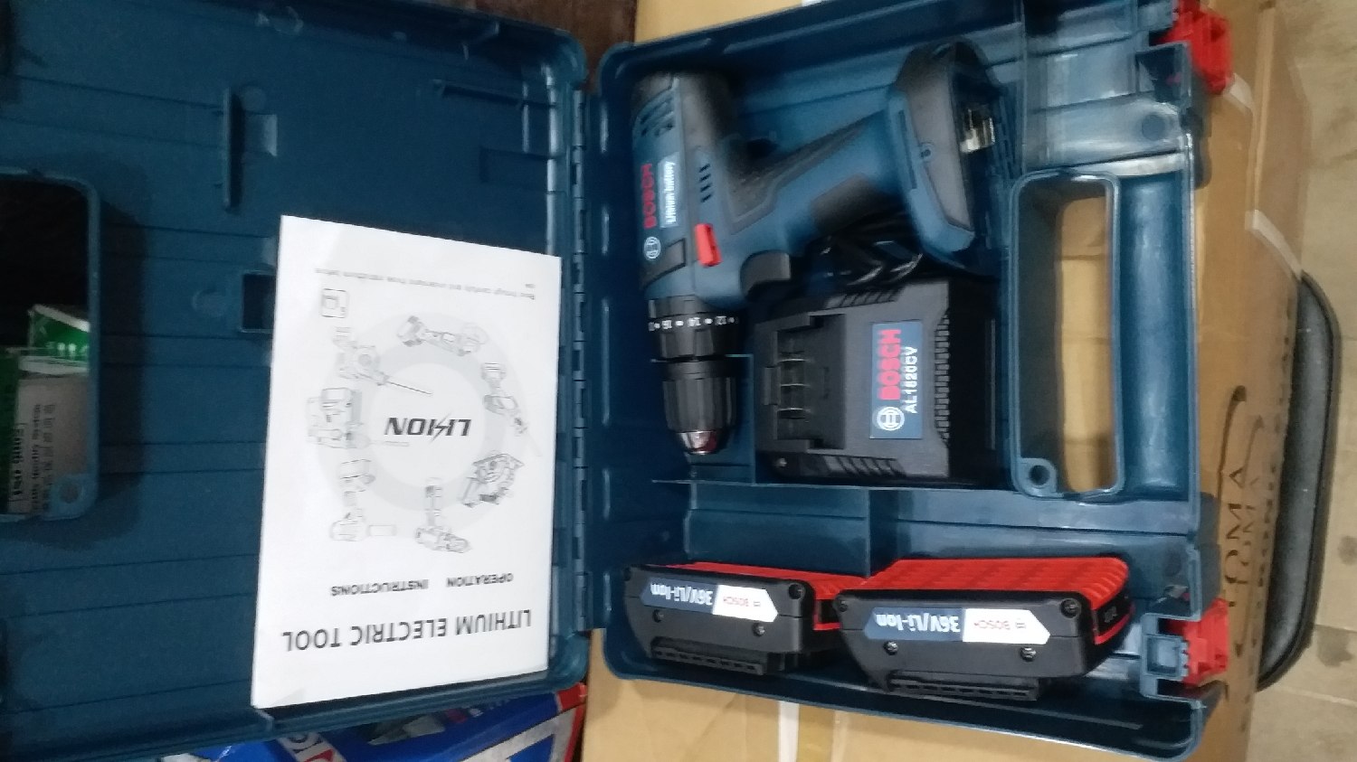 Bosch Rechargeable Drill Machine 36v   Electrical Hand Tools for sale in Lagos State, Ojo