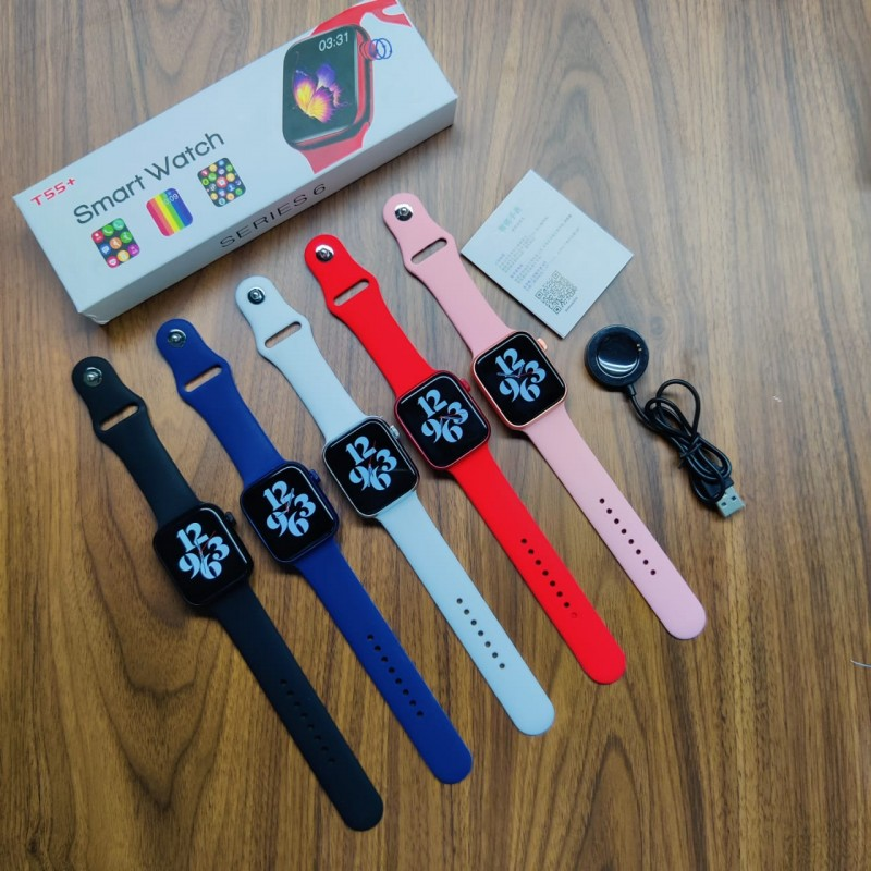 T55+ Smart Watch Series 6   Smart Watches & Trackers for sale in Lagos State, Ikeja