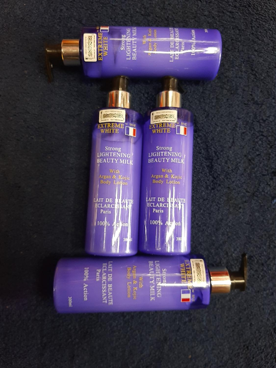 Extreme White Strong Lightening Beauty Milk | Skin Care for sale in Lagos State, Amuwo-Odofin