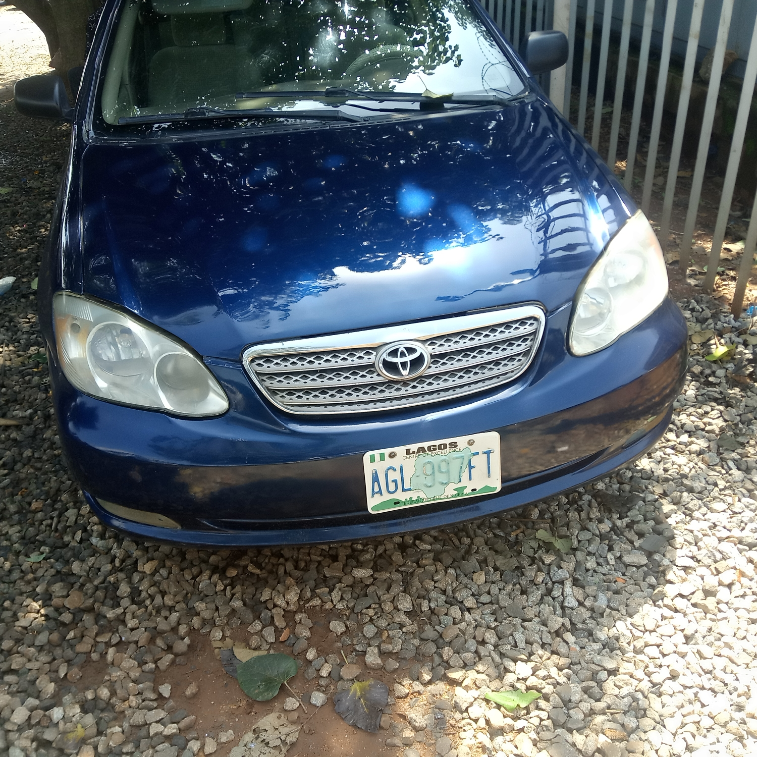 Toyota Corolla 2006 1.4 VVT-i Blue | Cars for sale in Abuja (FCT) State, Gwarinpa
