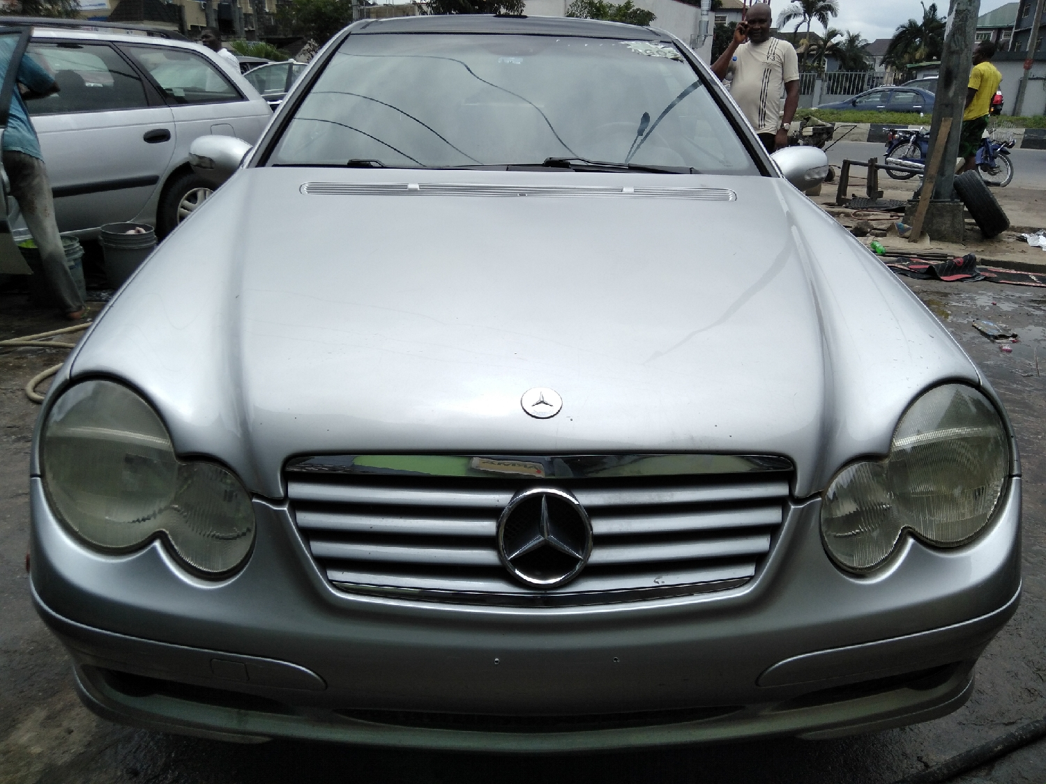 Mercedes-Benz C230 2004 Silver | Cars for sale in Rivers State, Port-Harcourt