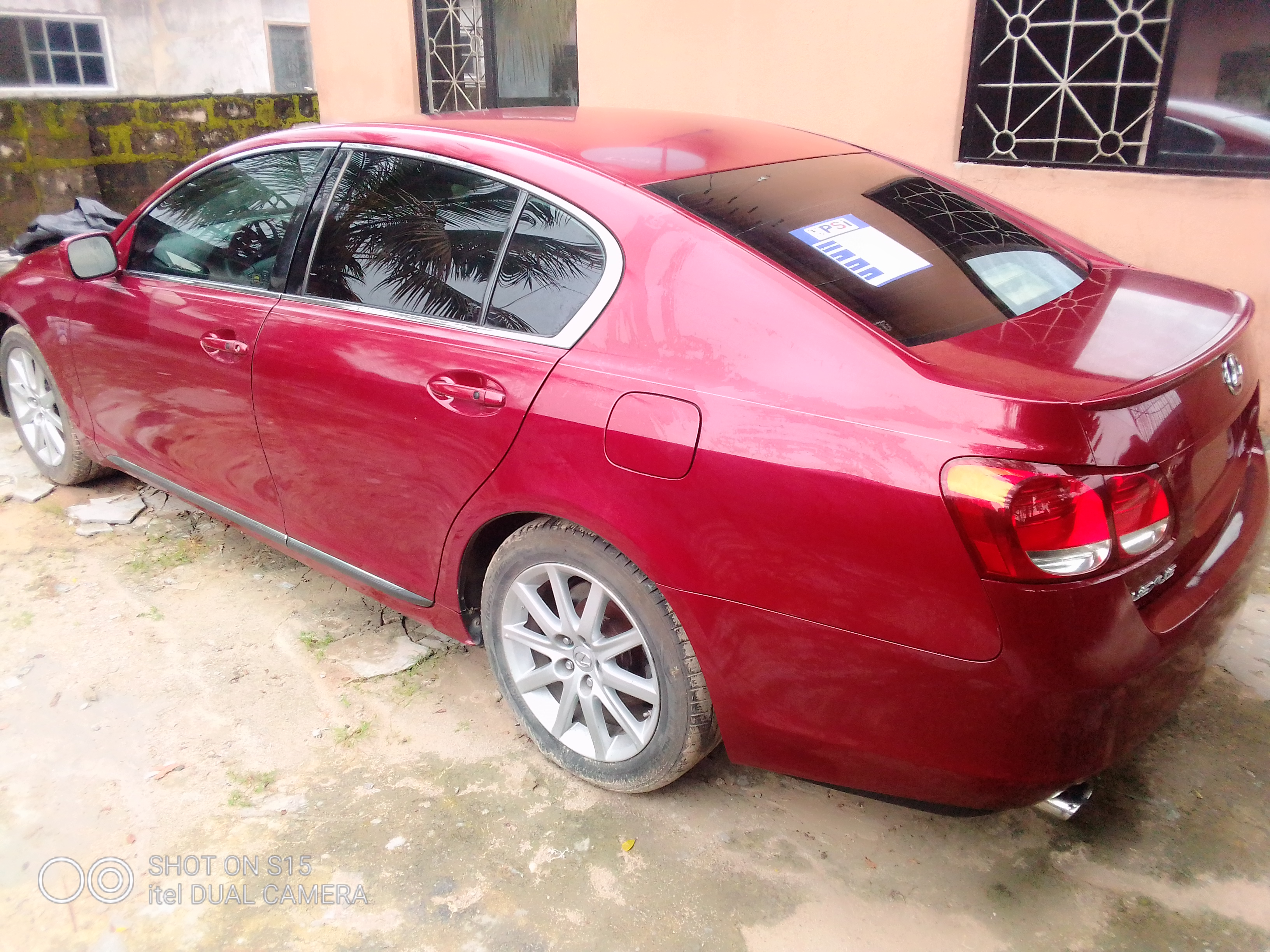 Lexus GS 2006 300 AWD Red | Cars for sale in Rivers State, Port-Harcourt