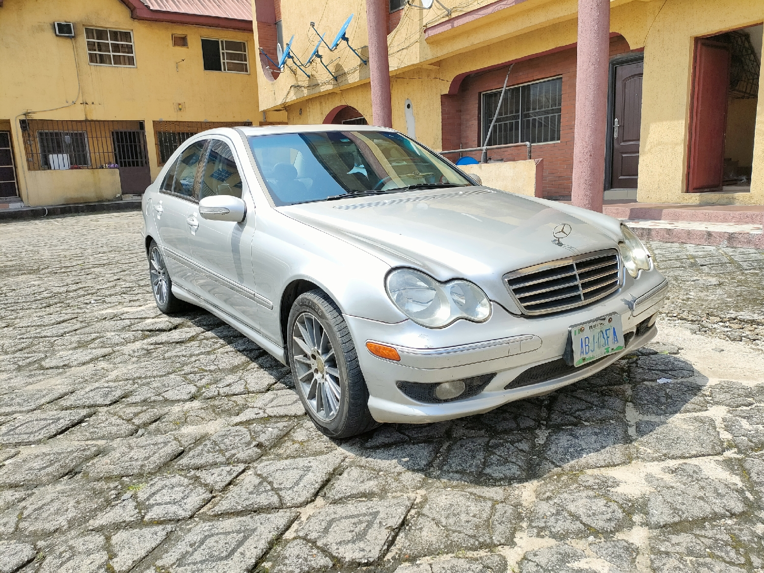 Mercedes-Benz C230 2007 Silver | Cars for sale in Rivers State, Port-Harcourt