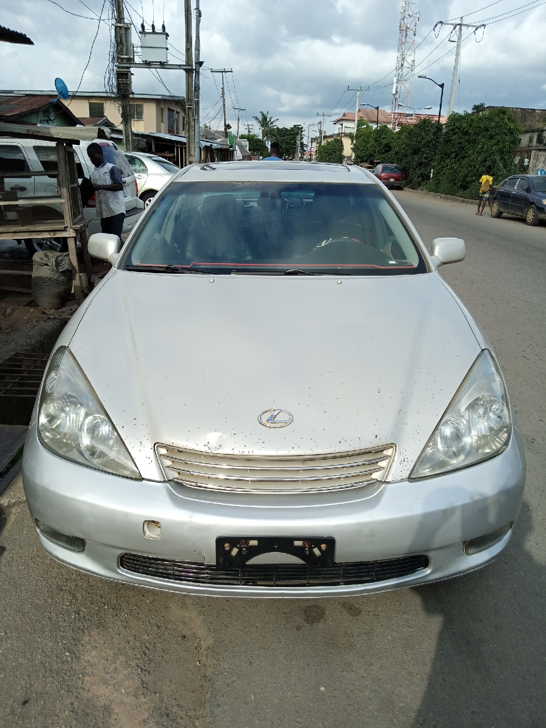Lexus ES 2003 Silver   Cars for sale in Lagos State, Agege